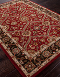 Jaipur Poeme PM96 Anjou Red/Deep Charcoal Closeout Area Rug - Fall 2013