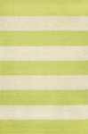 Trans-Ocean Liora Mann Positano 1213/16 Rugby Stripe Lime Closeout Area Rug