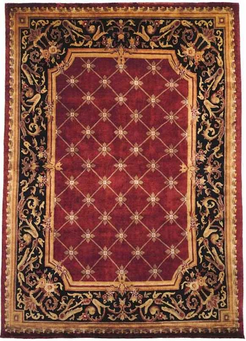 Kalaty Le Palais Ps 521 Plum Black Closeout Area Rug