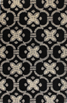 Bashian Venezia R120 CL123 Black Closeout Area Rug
