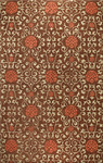 Bashian Venezia R120 CL122 Rambagh Chocolate Closeout Area Rug