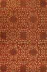 Bashian Venezia R120 CL122 Rambagh Rust Closeout Area Rug