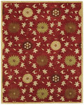 Bashian Wilshire R128 HG120 Ratna Red Closeout Area Rug