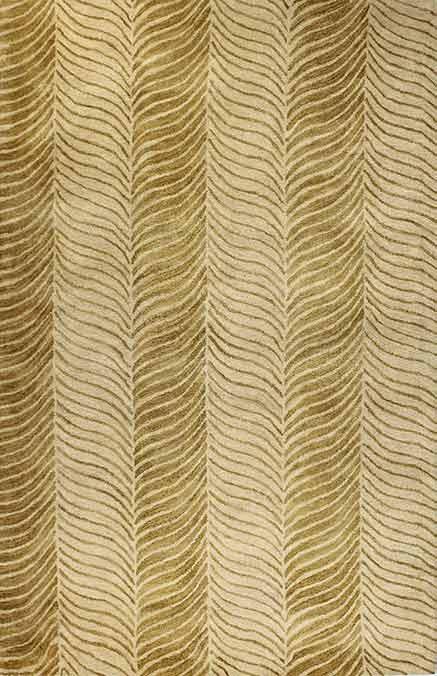 Bashian Greenwich R129 HG228 Ratna With Art Silk Gold Closeout Area Rug