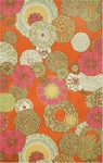 Trans-Ocean Liora Mann Ravella 2064/97 Disco Orange Closeout Area Rug