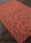 Jaipur Roccoco RC07 Louvre Navajo Red/Dark Brown Closeout Area Rug