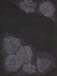 Calvin Klein Home Reflective REF02 NSHAD Etched Fower Nightshade Closeout Area Rug