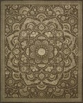 Nourison Regal REG02 CHO Chocolate Area Rug