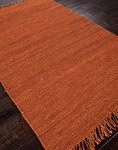 Jaipur Rugged RG01 Red Orange/Red Orange Closeout Area Rug - Fall 2013