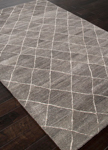 Jaipur Riad RIA01 Gem Charcoal Gray & Oyster Gray Area Rug