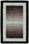 HRI Rope Shaggy RS-1 Black Area Rug