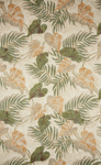 Trans-Ocean Liora Mann Ravella 2066/12 Tropical Leaf Neutral Area Rug