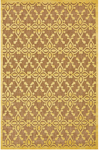 Feizy Raphia I 3288F Tan/Yellow Closeout Area Rug