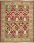 Nourison Nourmak S144 RED Red Closeout Area Rug
