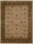 Allara Sabji AB-1006 Ivory/Brown Closeout Area Rug