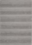 Calvin Klein Home Sequoia SEQ01 SMOKE Boucle Stripe Smoke Area Rug