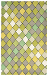 Trans-Ocean Liora Manne Seville 9680/06 Diamond Green Closeout Area Rug