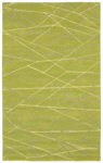 Trans-Ocean Liora Manne Seville 9684/06 Lines Green Closeout Area Rug