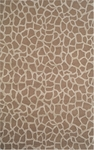 Trans-Ocean Liora Manne Seville 9642/11 Giraffe Taupe Closeout Area Rug