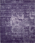 Nourison Silk Shadows SHA10 AMETH Amethyst Area Rug