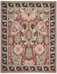 Nourison Nourmak SK70 RED Red Closeout Area Rug