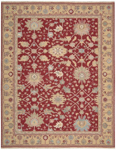 Nourison Nourmak SK72 RED Red Closeout Area Rug