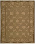 Designer Series Silky SIL1 Brown Closeout Area Rug