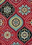 Loloi Serendipity SN-07 Red/Multi Closeout Area Rug