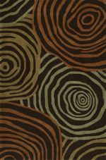Dalyn Santino SO49 Chocolate Area Rug