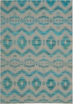 Nourison Spectrum SPE01 TURGY Turquoise/Grey Closeout Area Rug