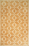 Trans-Ocean Liora Mann Spello 2117/17 Arabesque Orange Closeout Area Rug