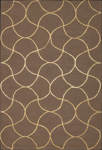 Nourison Sorrento SR08 CHO Chocolate Closeout Area Rug