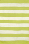 Trans-Ocean Sorrento 6302/16 Rugby Stripe Lime Area Rug