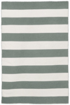 Trans-Ocean Sorrento 6302/47 Rugby Stripe Grey Area Rug