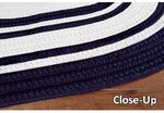 Surya Country Living Seaside Stripes SSD-7500 Navy/White Closeout Area Rug - Spring 2012