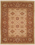 Kalaty Soumak SU-199 Ivory/Brown Closeout Area Rug
