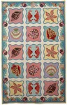 Marcella Savoy SVY421A Shells Multi Closeout Area Rug