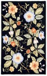 Marcella Savoy SVY473A Overscale Floral Black Closeout Area Rug