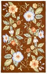 Marcella Savoy SVY473D Overscale Floral Medium Brown Closeout Area Rug