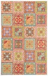 Marcella Savoy SVY479A Panels Orange Closeout Area Rug