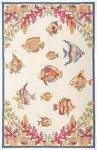 Marcella Savoy SVY486A Fish Cream Closeout Area Rug