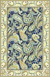 Marcella Savoy SVY500C Paisley Navy Closeout Area Rug