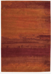 Calvin Klein Home Luster Wash SW01 RUS Russet Tones Area Rug