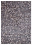 Calvin Klein Home Luster Wash SW04 GRY Scattered Flowers Closeout Area Rug