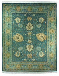 Bashian Bromley Hall T112 328 Sultanabad Denim Closeout Area Rug