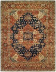 Allara Tania AN-1005 Navy/Rust Area Rug