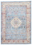 Jaipur Tabriz TBZ04 Emilion Ashley Blue & Whisper White Area Rug