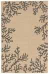 Trans-Ocean Liora Manne Terrace 1783/67 Coral Border Neutral Closeout Area Rug