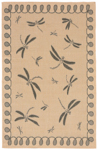 Trans-Ocean Liora Mann Terrace 1791/67 Dragonfly Neutral Area Rug