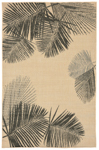 Trans-Ocean Liora Mann Terrace 1792/67 Palm Neutral Area Rug